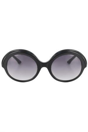 Очки солнцезащитные LAURA BIAGIOTTI. Цвет: черный
