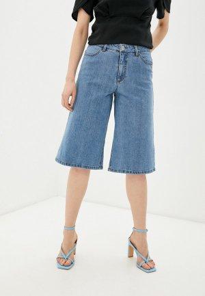 Шорты джинсовые Ichi. Цвет: голубой