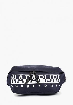 Сумка поясная Napapijri. Цвет: черный