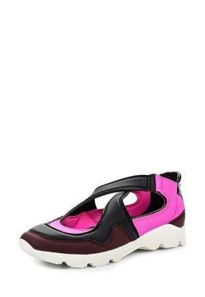 Кроссовки MM6 Maison Margiela. Цвет: разноцветный