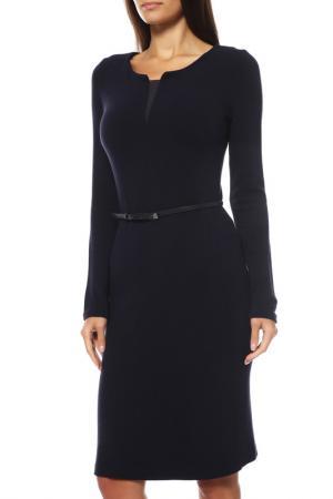 Платье Comma. Цвет: темно-синий
