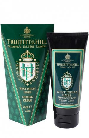 Крем для бритья в тюбике West Indian Limes Truefitt&Hill. Цвет: бесцветный