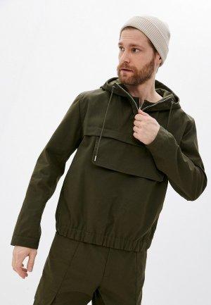 Куртка Helmut Lang. Цвет: хаки