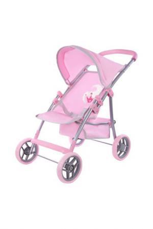 Коляска Корона MARY POPPINS. Цвет: розовый