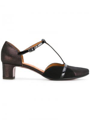 Туфли с Т-образным ремешком Chie Mihara. Цвет: чёрный