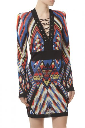 Платье Balmain. Цвет: c5030
