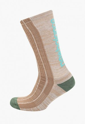 Носки New Balance. Цвет: бежевый