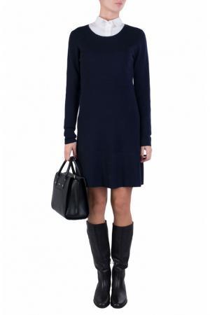 Платье ALLUDE. Цвет: синий