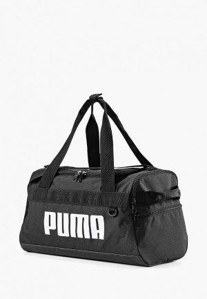 Сумка спортивная PUMA. Цвет: черный