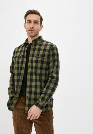 Рубашка Barbour. Цвет: хаки