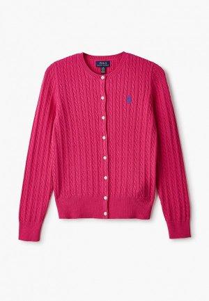 Кардиган Polo Ralph Lauren. Цвет: розовый
