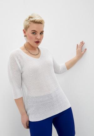 Пуловер Persona by Marina Rinaldi. Цвет: бежевый