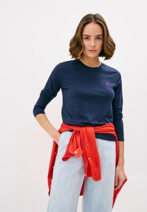 Лонгслив Polo Ralph Lauren. Цвет: синий