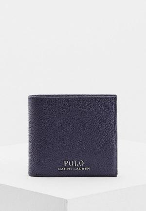 Кошелек Polo Ralph Lauren. Цвет: синий