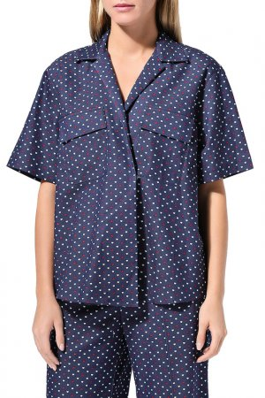Блуза BELUCCI. Цвет: синий