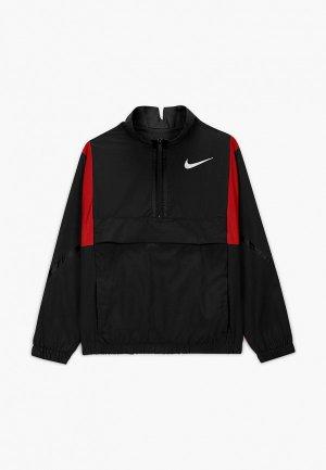 Ветровка Nike. Цвет: разноцветный