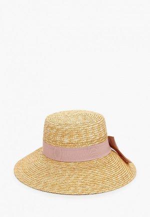 Шляпа Fabretti. Цвет: желтый