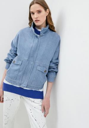 Куртка джинсовая Closed. Цвет: голубой