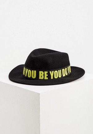 Шляпа Trussardi. Цвет: черный