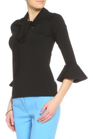 Блуза Denny Rose. Цвет: чёрный