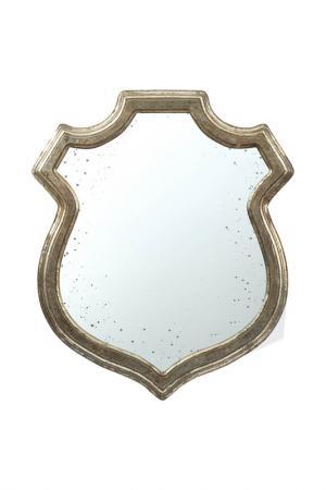 Зеркало 51x2x60 см ГЛАСАР. Цвет: серебряный