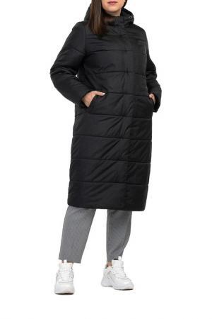 Пальто Modress. Цвет: серо-черная клетка