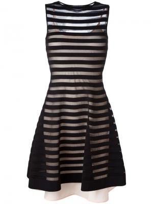 Платье Ortensia Antonino Valenti. Цвет: чёрный