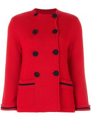 Двубортная куртка Milano Chinti & Parker. Цвет: красный