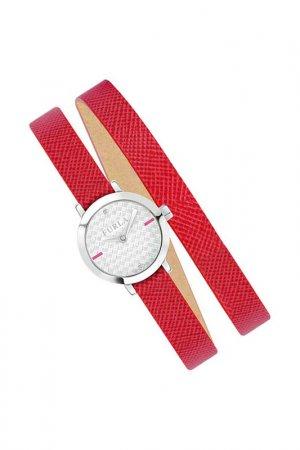 Наручные часы FURLA. Цвет: красный