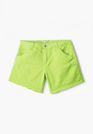 Шорты джинсовые Liu Jo Junior. Цвет: зеленый