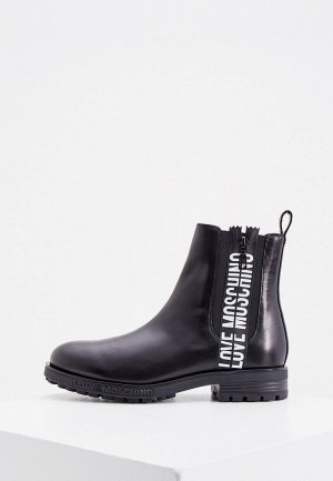 Ботинки Love Moschino. Цвет: черный
