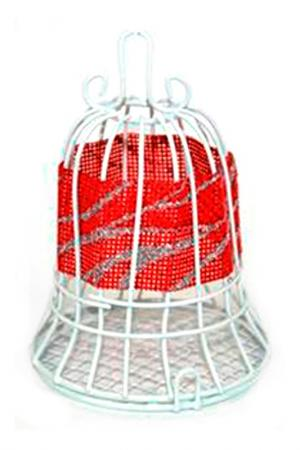 Колокол-шкатулка для елки DUE ESSE CHRISTMAS. Цвет: красный