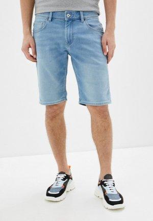Шорты джинсовые Celio. Цвет: голубой