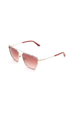 Очки солнцезащитные GUY LAROCHE. Цвет: 100 розовое золото