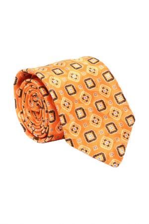 Галстук ALTEA. Цвет: оранжевый в узор
