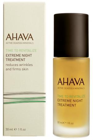 Восстанавливающий ночной крем Ahava. Цвет: прозрачный
