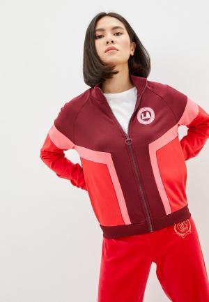 Олимпийка Juicy Couture. Цвет: бордовый