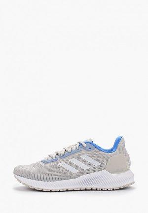 Кроссовки adidas. Цвет: серый