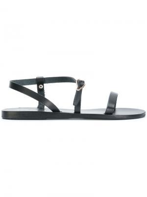 Сандалии Niove Ancient Greek Sandals. Цвет: чёрный