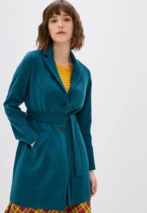 Пальто Camomilla Italia. Цвет: зеленый