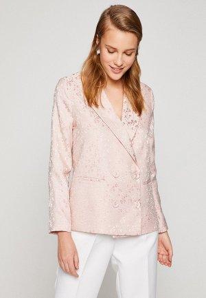 Пиджак Koton. Цвет: розовый