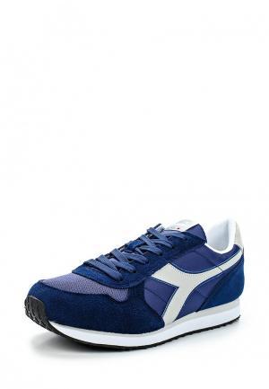 Кроссовки Diadora. Цвет: синий