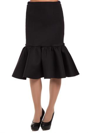 Юбка Gloss. Цвет: черный