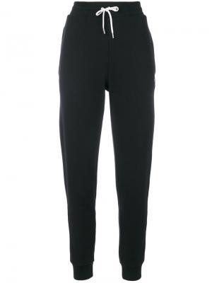 Спортивные брюки Maison Kitsuné. Цвет: чёрный