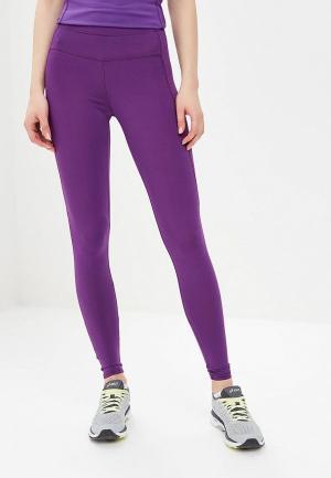 Леггинсы Emdi. Цвет: фиолетовый