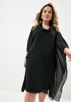 Платье Elena Miro. Цвет: черный
