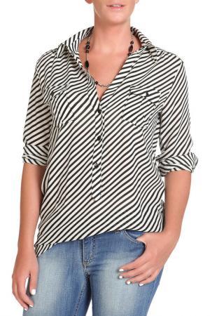 Блуза DENNY ROSE. Цвет: черный