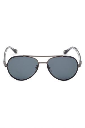 Солнцезащитные очки DUNHILL. Цвет: антрацит