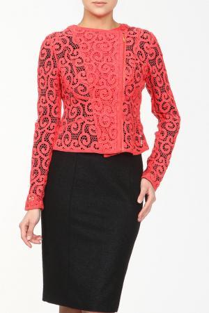 Пиджак ELIE TAHARI. Цвет: коралловый
