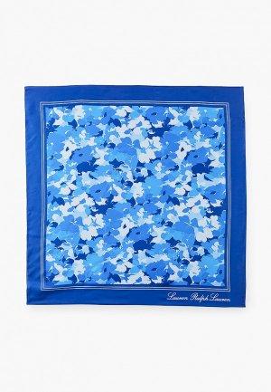 Платок Lauren Ralph. Цвет: синий